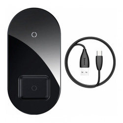 Baseus Simple 2in1 Wireless Charger 18W Max