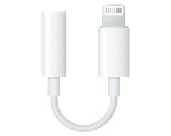 Адаптер Apple Lightning to 3.5 mm Headphone Jack Adapter (MMX62ZM/A)