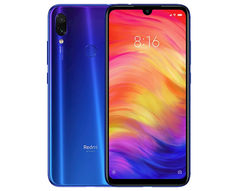 Cмартфон Xiaomi Redmi Note 7 4/128Gb  GLOBAL VERSION Blue