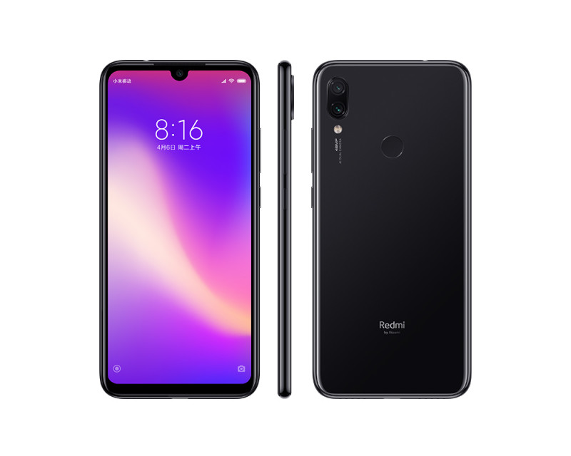 Cмартфон Xiaomi Redmi Note 7 4/128Gb  GLOBAL VERSION Black